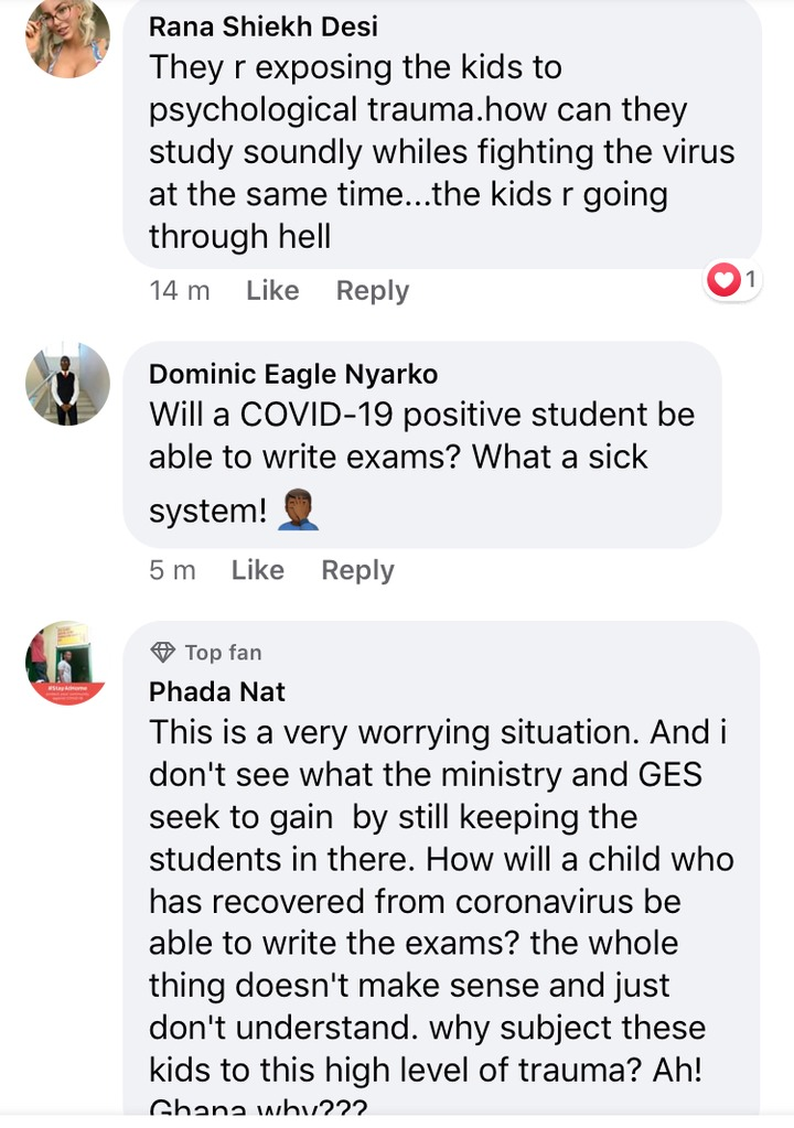 7a79440b8c319e50c146c26a59106834?quality=uhq&resize=720 - Ghanaians React After 55 students, staff test positive for COVID-19 at Accra Girls SHS