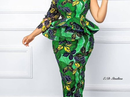 Morthers Checkout Beautiful Ankara Outfit You Can Rock On Easter Sunday (Photos)