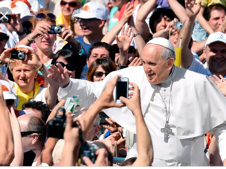 Check out the Four Messages Pope Francis sent to all Christians concerning Easter Sunday