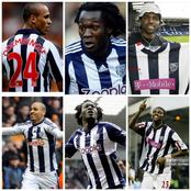 Throwback Photos Of Lukaku, Odemwingie And Kanu Nwankwo As West Brom Players