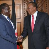 Blow For ODM Supporters as Details Leak on What Uhuru Is Convincing Raila To Do Ahead of 2022