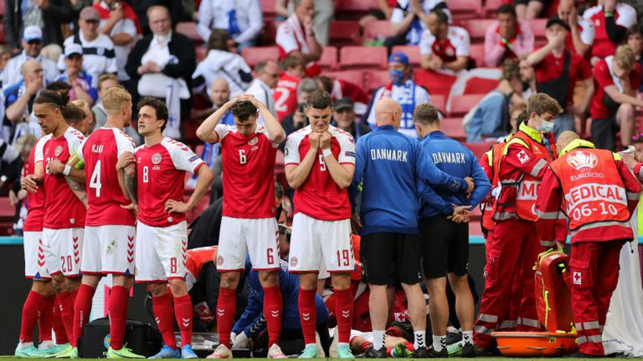 Dänischer Fußballer Eriksen nach Kollaps bei EM weiterhin in stabilem  Zustand - Opera News