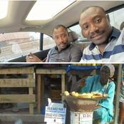 Les jumeaux Diakité offrent 100.000 francs à la maman vendeuse de bananes