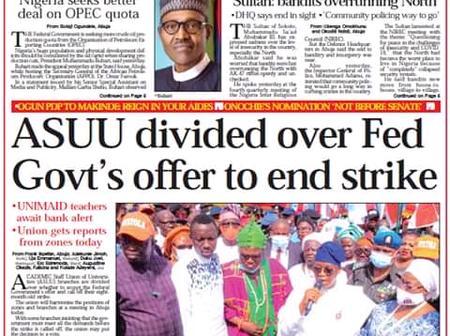 The Nation Newspaper Headlines, Friday, 27th November, 2020