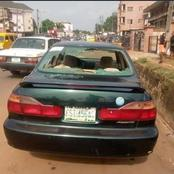 Again, Unknown Gunmen Strike A Bank In Anambra Town, Hoist Biafran Flag, Destroy Vehicles.