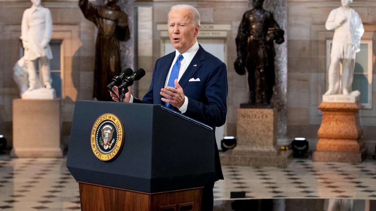 Etats-Unis: Joe Biden investi par les démocrates