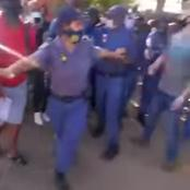 NEWS | Chaos at primary school this morning when EFF locked the gates