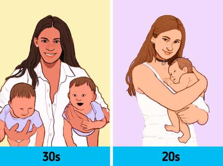 10 Risks And Advantages You Might Face If You Give Birth in Your 30s vs Your 20s