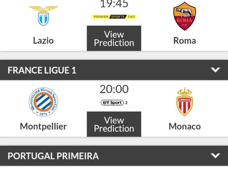 Perfectly Predicted Soccer Matches Including Chelsea and Juventus To Win You Big