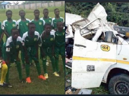 Vision Soccer Academy Players dies in a gory Accident; Ministry of Youth and Sports Commiserates