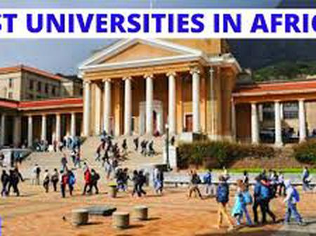 Top 10 Best Ranked Universities In Africa, Check The List.