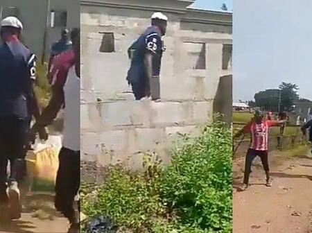 Video: Civil Defence Officer Joins the Looting in Gwagwalada