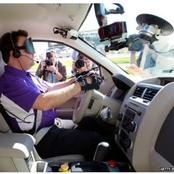 Blind Drivers Behind The Wheels In The Future.