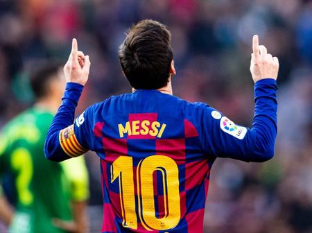 10 Ridiculous Records broken by Lionel Messi in 2019/2020 season.