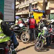 Concerns As Rogue Boda-Boda Operators Take a Driver To An Unknown Location After Beating Him