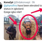 See What An Igbo Community Did Because Of Phyno That Causes Reactions Online