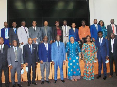 Le ministre Adama Diawara partage la vision du ministère avec le Patronat pour booster la recherche