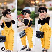 """A Slay Queen""- Photos Of A 4-year-old That Leaves Everyone Salivating Because Her Taste Of Fashion"