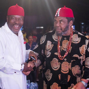 Checkout The Photo Of Chief Pete Edochie And Kanayo O Kanayo That Caused Reactions
