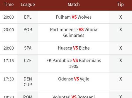 8 Bets Selections For Today To Win You Big