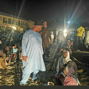 After Governor Zulum Stormed the IDP Camp at Night, See what he discovered there