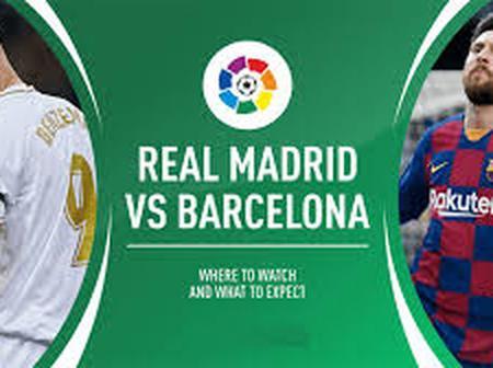 Who wins EL CLÁSICO: Real Madrid or Barcelona