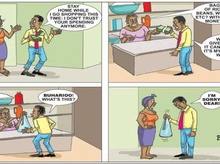 Cartoon About Minimum Wage & Prices Of Foodstuffs Sparks Reactions On Social Media