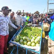 Ruto Brings Igembe North To A Halt As Crowd Expresses Their Love Towards Him