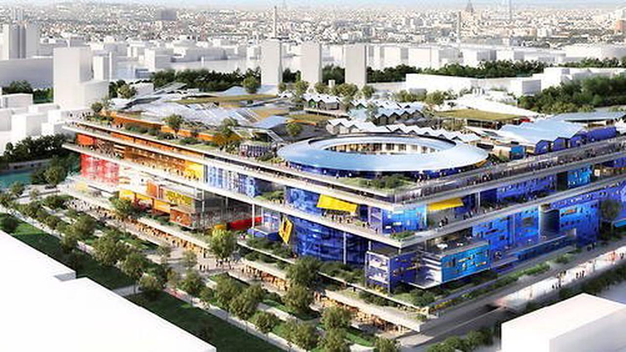 Architecture - À Gennevilliers, une Metropolis signée Jean Nouvel