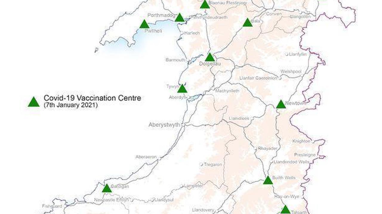 Mass coronavirus vaccination centre opens in Abergavenny