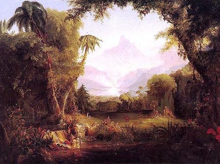 Where is the present day location of the garden of Eden?