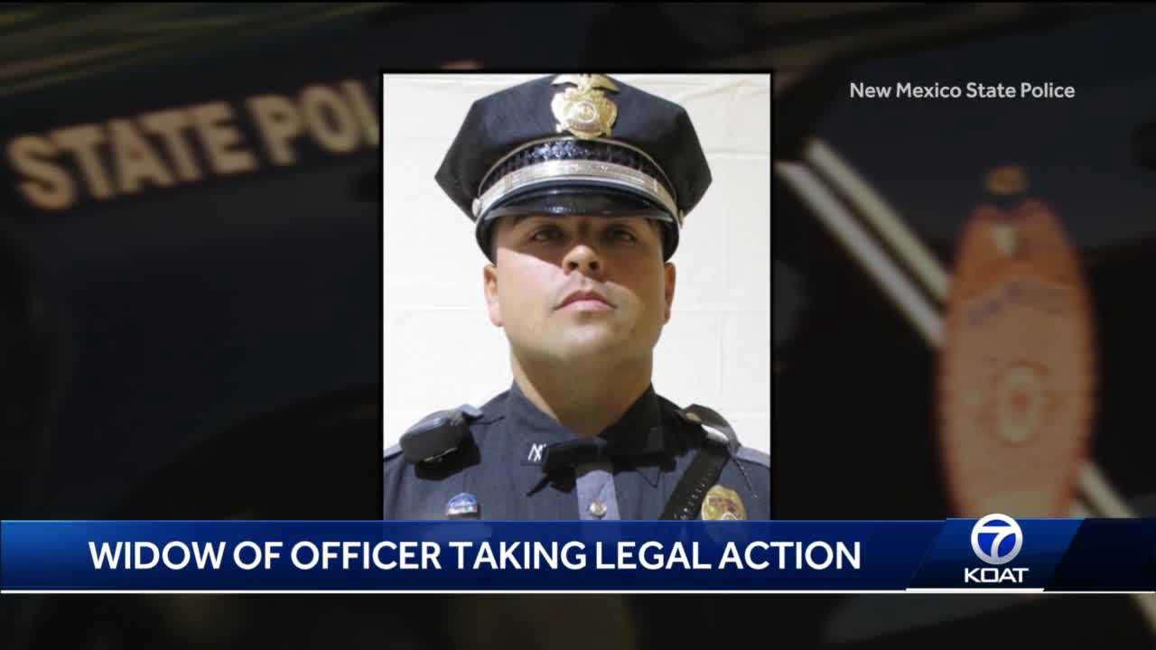 Widow of NMSP officer suing for wrongful death