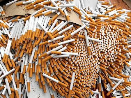 2 Men Arrested For Transporting R700 000 worth of Counterfeit Cigarettes.