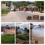 Désobéissance civile à Moutcho-Agboville: des affrontements entre manifestants et forces de l'ordre