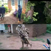 Trending Now: A Pastors wife and Daughter are Caught doing Witchcraft in Kisii County In School