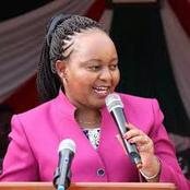 Governor Waiguru Faces Backlash After Saying This About The Just Concluded By-elections