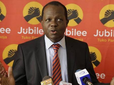 Dennis Itumbi Alleges That This Jubilee Leader May Soon Be Kicked Out Of His Parliamentary Position