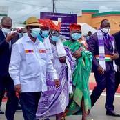 Depuis Bouaflé, les chefs Gouro à Ouattara : « que les portes du 3ème mandat vous soient ouvertes »