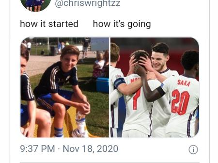 Long Time best mates — Rice and Mount shares academy pictures after their midfield partnership.