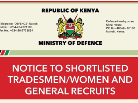 KDF Sends Urgent Message to Candidates, Recruits After Uhuru Announced Lock Down