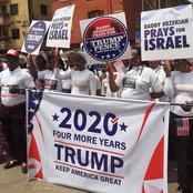 Wonders Shall Never End: Nigerian Church Led by Professor Holds Prayer Walk for Donald Trump[Photos]