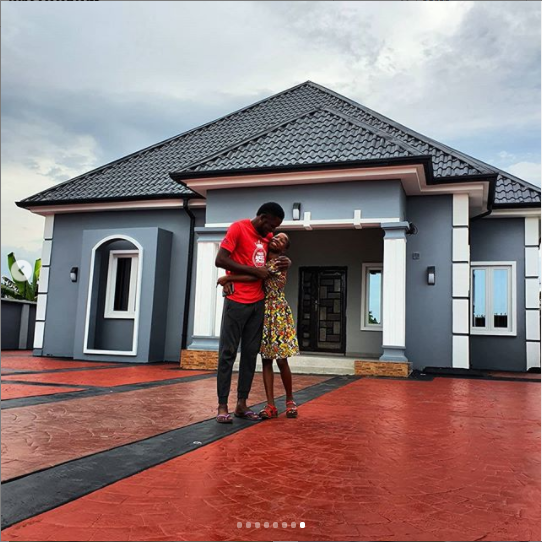 Kid comedienne, Emmanuella unveils the new house she built for her mum (photos)