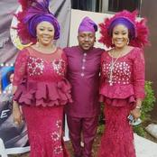 Despite Marrying Two Women, Nollywood Actor And His Wives Are Living Happily Together