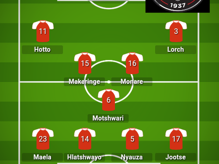 How Orlando Pirates and Swallows FC Could Line Up For Today's Match