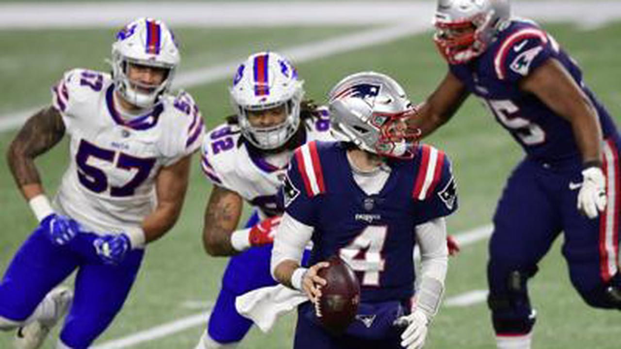 Allen's four TD passes lead Bills past Patriots