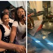 Kantanka CEO Kwadwo Safo's 'moving car cake' at his 35th birthday party causes stirs [Watch]