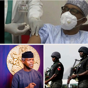 Today's Headlines: Buhari, Osinbajo take COVID-19 Vaccine, One Dead As Policemen And Soldiers Clash