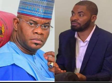 Deji Adeyanju believes Yahaya Bello is tricking Nigerians and not contesting for Presidency