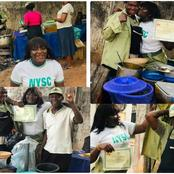 Amarachi's Mom Sold Food By The Road To Pay Her Fees, See What She Did After Passing Out From NYSC