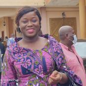 La candidate de l'EDS, Fleur Aké M'bo très critiquée à cause de cette photo